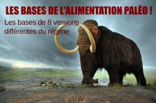 Le régime paléolithique: 1/8 les bases