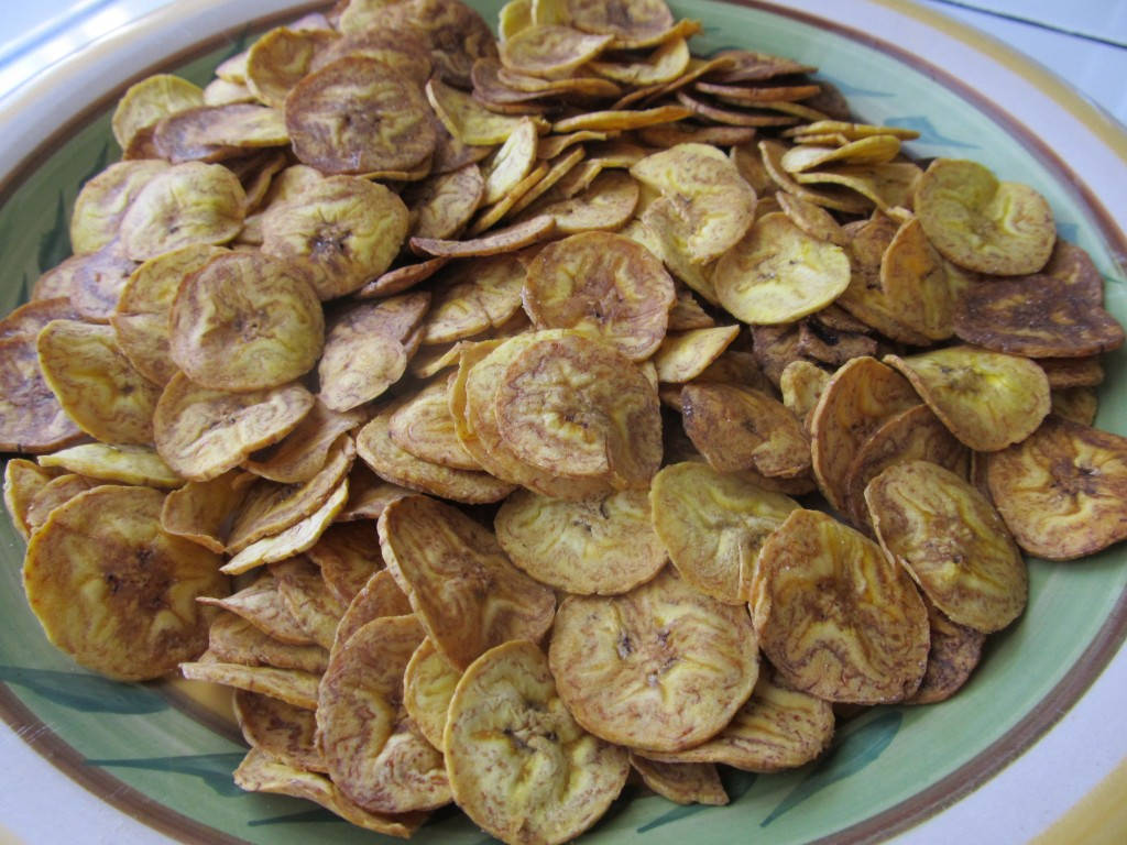 Chips banane plantain