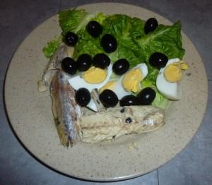 Salade de maquereau