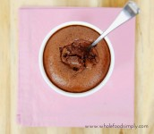 Pudding sans gluten au chocolat